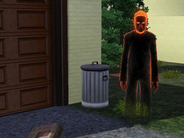 Как сделать умершего сима призраком